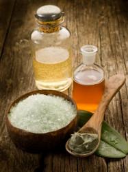 Скрабы из морской соли и масел